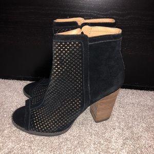 Women's Ankle High Open Toed Heels